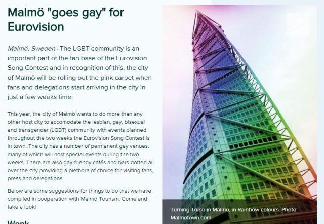 malmoe goes gay